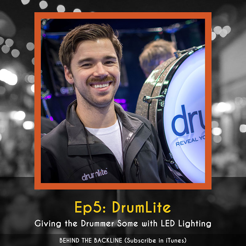DrumLite - Giving the Drummer Some With LED Lighting