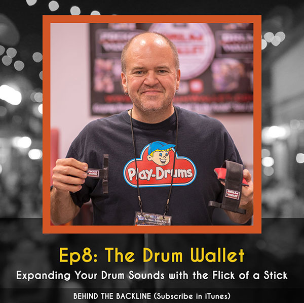 The Drum Wallet - Expanding Your Drum Sounds with the Flick of a Stick