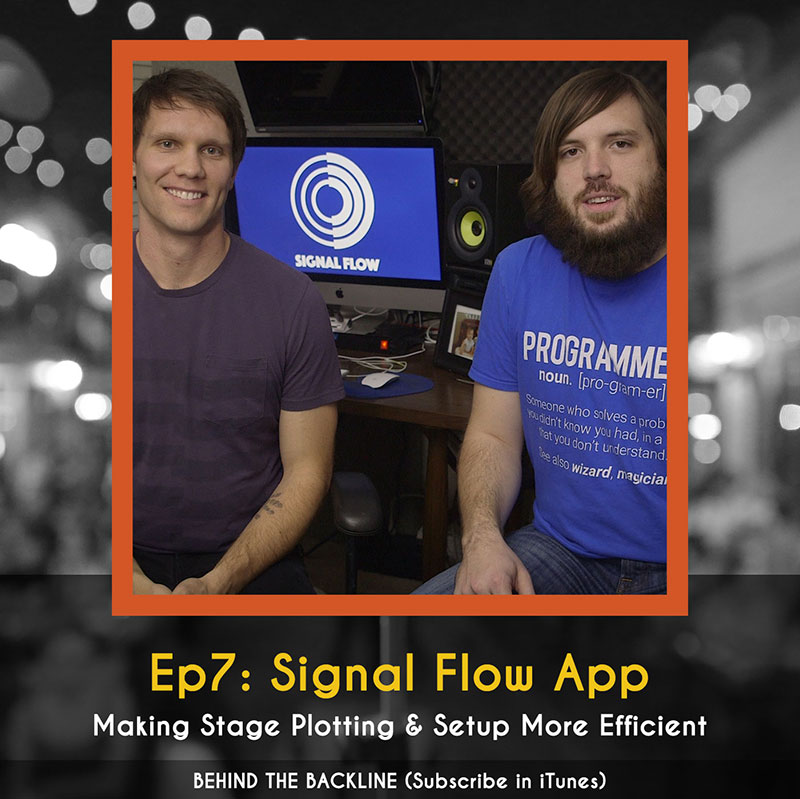 Signal Flow - Making Stage Plotting & Setup More Efficient