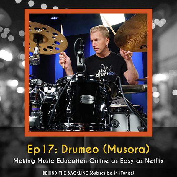 Behind the Backline, Episode 17: Drumeo & Musora
