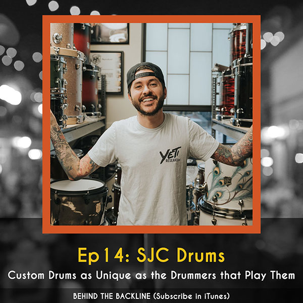 SJC Drums - Custom Drums as Unique as the Drummers that Play Them