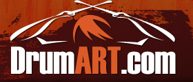 DrumART.com Custom Bass Drum Heads logo