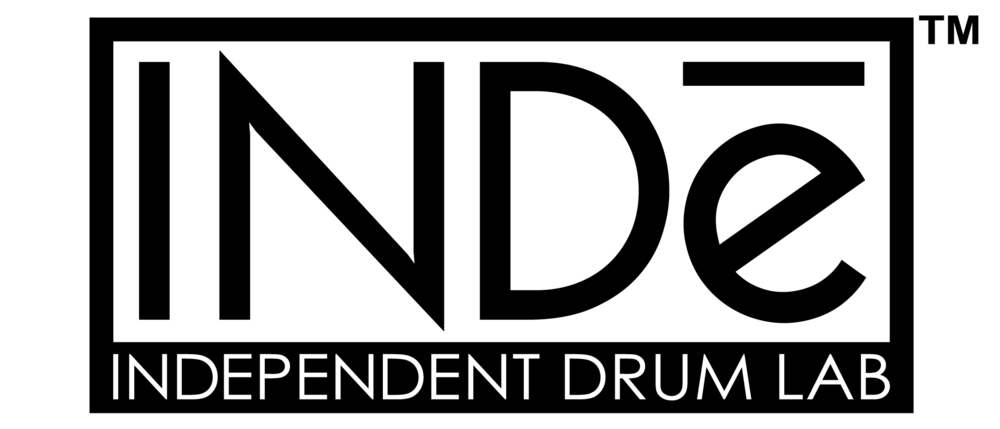 Independent Drum Lab (INDe Drum Lab) logo