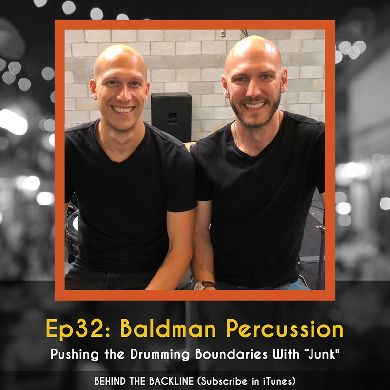 Behind the Backline, Episode 32: Baldman Percussion