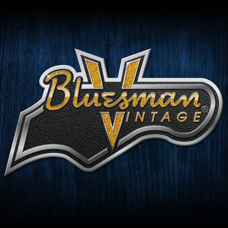Bluesman Vintage Guitars logo