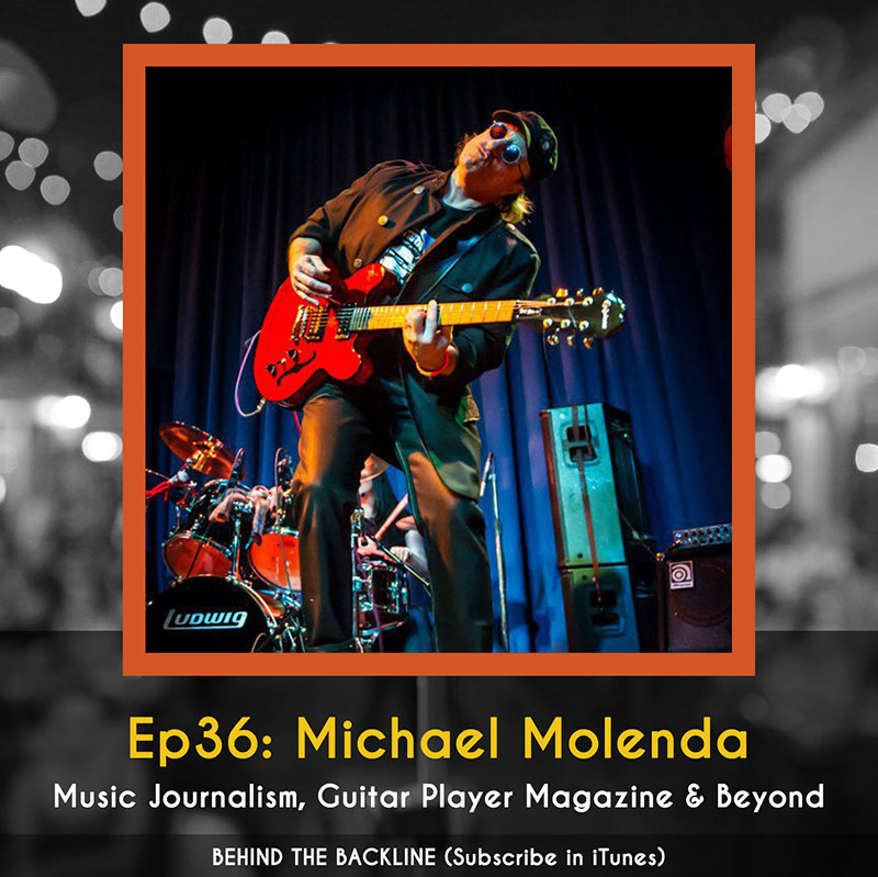 Michael Molenda - Guitar Player Magazine, Music Journalism & Beyond