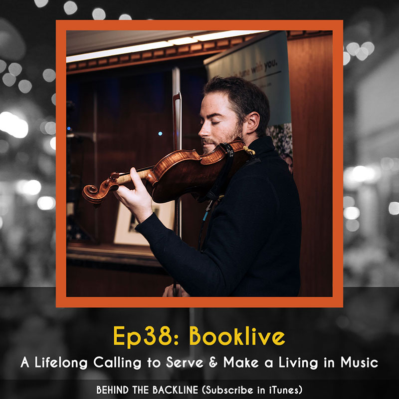 Booklive App - A Lifelong Calling to Serve & Make a Living in Music