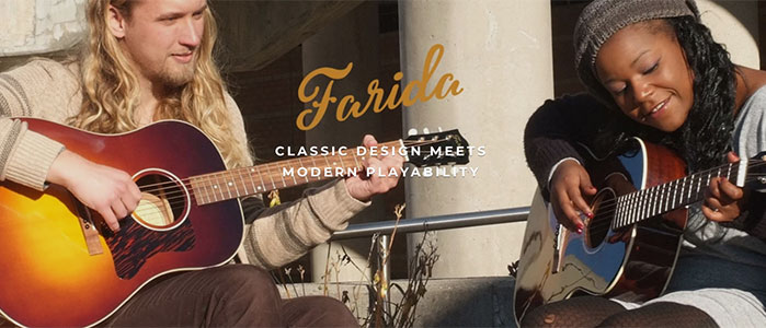 Farida Parlor Guitars Now Available in North America